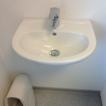 Waschtisch WC EG