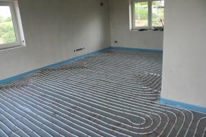 Wohnzimmer - Fußbodenheizung