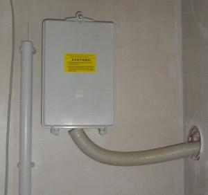 Stromanschluss im Keller