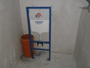 WC Vorbereitung Bad OG